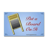 Board sticker